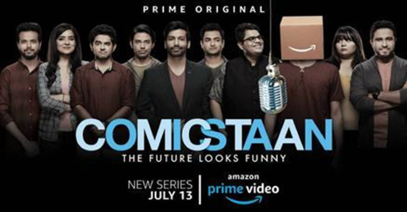 COMICSTAAN - Indian Standa up comedy show on netflix