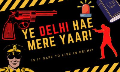 Delhi's Street Crimes to Drop to 56% During the Lockdown