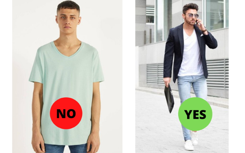 fashion mistakes featuring T shirts