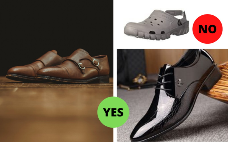 men fashion mistake featuring Shoes