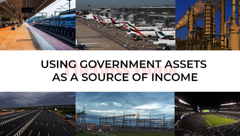 using Government Assets as Source of income
