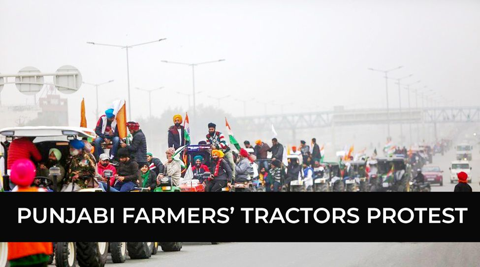 Punjub Farmers' Tractor Protest