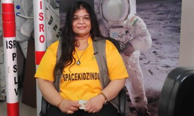 Dr. Srimathy Kesan, Founder and CEO of Space Kids India(SKI