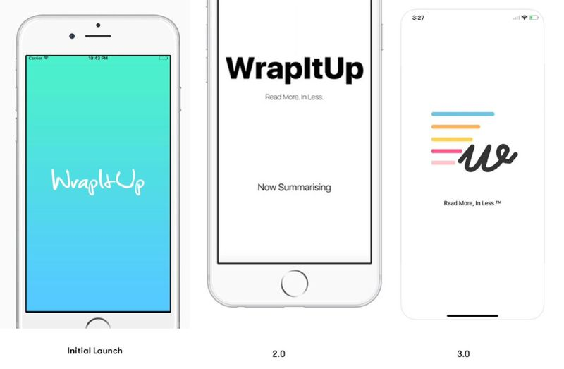 Harshdeep developed the iOS version of WrapitUp