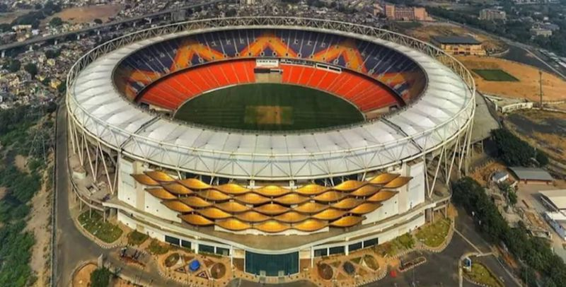 Narendra Modi Stadium in Ahmedabad is considered to be the largest in the world
