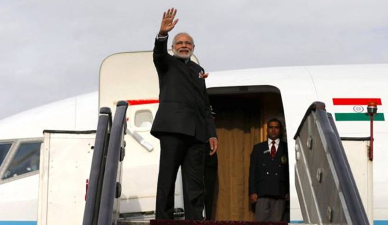 Narendra Modi began by branding himself to the world through frequent visits to other nations