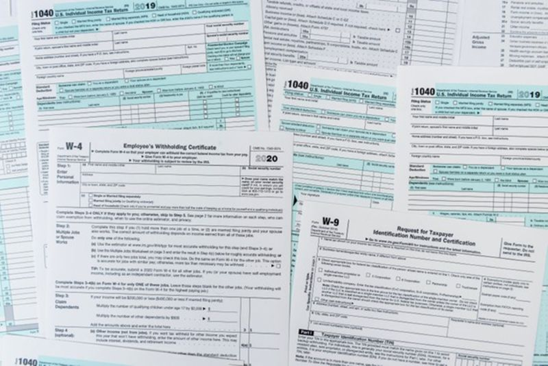 Paper filing of Income Tax Return