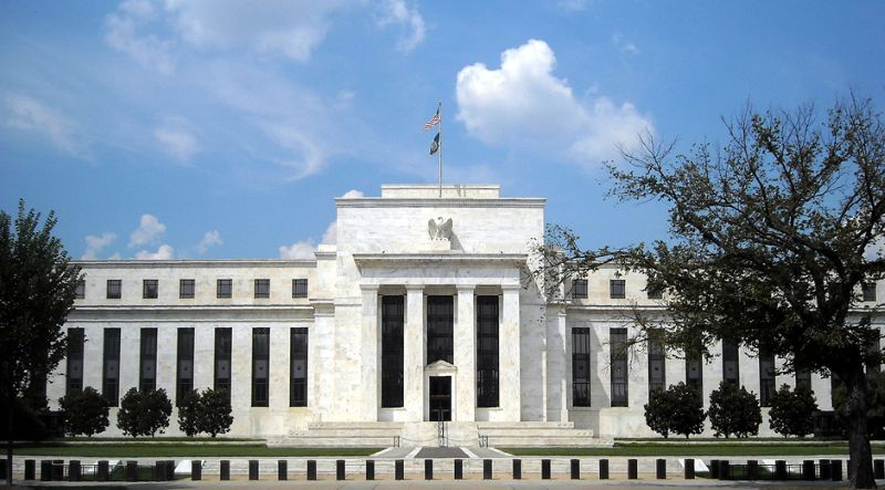 The Federal Reserve can create dollars out of nothing